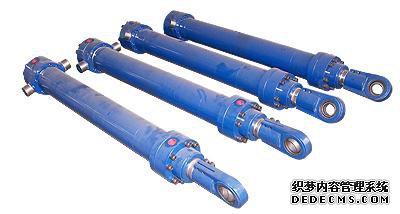液压缸筒的5个部件:缸筒图片